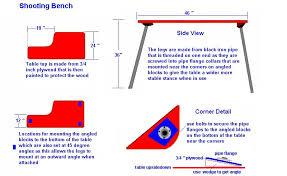 Portable Shooting Bench Plans U2013 AmarillobrewingcoPlans For Portable Shooting Bench