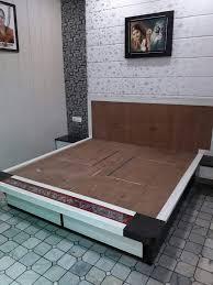Double Bed Sunmica Designs Bed Karan Jangid Box Bed Design Bedroom Bed Design