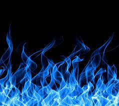 Black and Blue Fire Wallpapers - Top ...