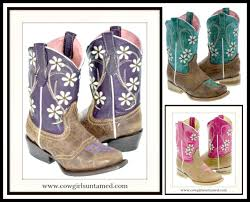 white fl embroidery on genuine leather cowgirl boots