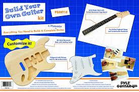 amazon com pyle pro pgekt18 unfinished electric guitar kit musical Schematic Wiring Diagram at Model Sadiyg 06 Wiring Diagram