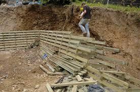 eco self build house the timber frame