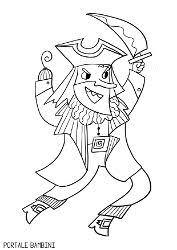 Disegni Di Pirati Da Stampare E Colorare Gratis Portale Bambini