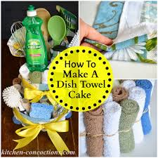 Gift For Kitchen Tea Creative Soap Ideas Dish Towel Cake Step By Step Tutorial