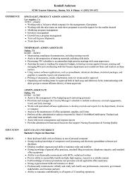 Admin Associate Resume Samples Velvet Jobs