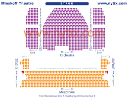 Minskoff Theatre New York Ny Seating Chart Minskoff Theatre On Broadway In Nyc