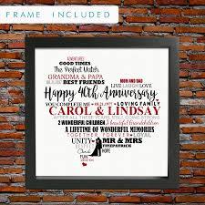 40 year anniversary gift 40 year wedding anniversary gift topweddingservice 40 year wedding anniversary gift 40th