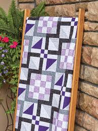 Purple Quilt Patterns Awesome Design Ideas
