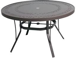 awesome small patio table with umbrella hole or impressive small round patio table small round patio