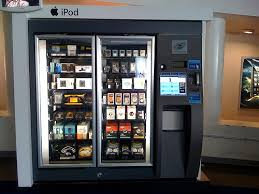 Ipod Vending Machine Locations Awesome IPod Vending Machine At JFK The Machine Also Vended Headph Flickr