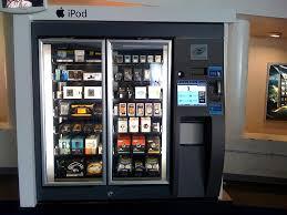 Electronic Vending Machine Custom IPod Vending Machine At JFK The Machine Also Vended Headph Flickr