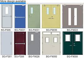 note 1 most exterior doors do not require fire rating