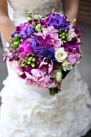 Autumn Wedding Flowers Purple