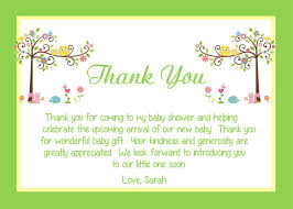Thank You Cards Baby Shower Thank You Notes Baby Shower We Bioinnovate Co Thank Yous For Baby