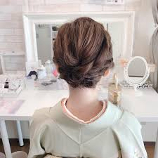 Moriyama Mamiさんのヘアスタイル 結婚式七五三と2日に渡りご利