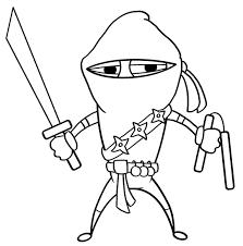 ninja clipart black and white. Brilliant And Ninja Clipart Cool Character Drawing At Getdrawings Com Vector Library  On Clipart Black And White