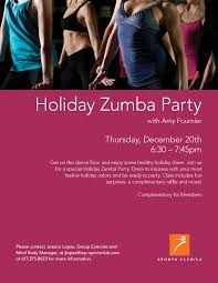 scla holiday zumba party flyer amy fournier scla holiday zumba party flyer