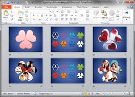 Design Slides For Powerpoint 2010 Applying Slide Masters To Individual Slides In Powerpoint 2010 For
