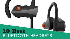 10 Best Bluetooth Headsets Review 2017 Youtube