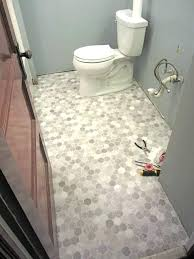 replacing bathroom floor around toilet how to install sheet vinyl floor