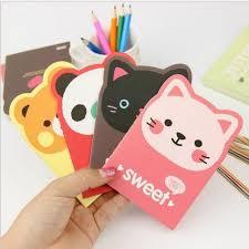 creative office supplies. 2PC* Cartoon Creative Stationery Office Supplies School Notebook Diary Panda