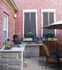 faux window house paint exterior