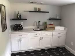 photo of granite quartz zone chantilly va united states white shaker cabinets
