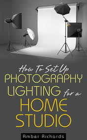 how to set up photography lighting for a home studio e book