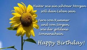 Happy Birthday Worte Sprüche Und Gedichte Auf Deutsch