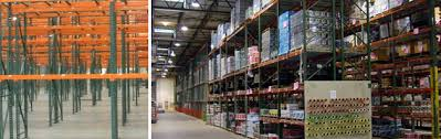 selective standard pallet rack is primarily made up of rack upright frames and rack beams configured in single or double back to back rows