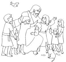 printable pictures of jesus with children. Simple Children And The Children Coloring Pages Page Free Jesus Praying Printable For Kids 4 Throughout Pictures Of With I