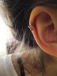double helix piercings guide and