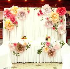 paper flower wall more color size paper flower backdrop for wedding custom paper flower wall decoration