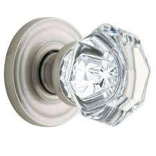 excellent glass door knobs satin nickel half dummy crystal door knob glass door knob locksets