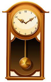 antique wall clock png clip art