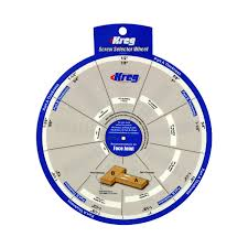 Kreg Tools Ssw Kreg Screw Selector Wheel Woodworking