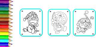 That doraemon's original paint colour is yellow? Learn Coloring For Doraemon 1 2 Apk Download Com Doraecolor Fangames Apk Free