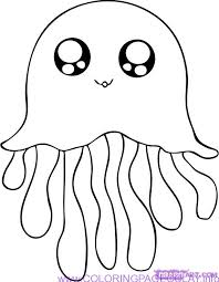 Easy Cute Animal Coloring Pages