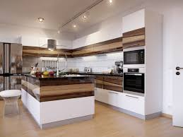 White Modern Kitchen Contemporary White Modern Kitchen With Cool And Trendy Design Wara