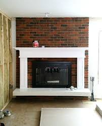 black fireplace paint black paint was perfect for this old outdated fireplace makeover black painted fireplace