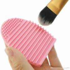 silicone makeup brush cleaning washing tools cosmetics makeup brushes scrubber board washing cosmetic brush cleaner tool elf cosmetic elf makeup brushes