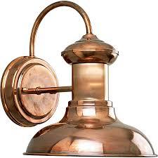 Copper Lantern Outdoor Lighting