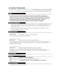 Student Nurse Resume Template Student Nurse Resume Template Free Curriculum Vitae Examples For