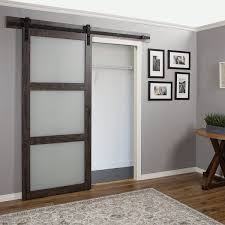 captivating barn door panel eria home design continental frosted glass 1 ironage laminate interior review wayfair