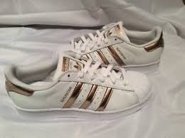 womens adidas superstars size 7 adidas women superstar white copper rose gold shell toe size 7