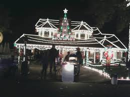 Thoroughbred Christmas Lights Thoroughbred Christmas Tree Lights In Alta Loma California
