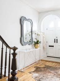 narrow entryway furniture. Attractive Narrow Entryway Furniture Inspiration For A Large Transitional Foyer Remodel In New York With White