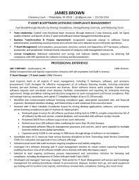 Asset Manager Resume Sample Licensed Nursing Home Administrator