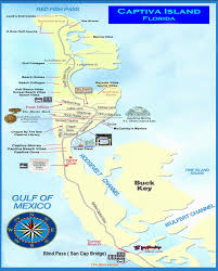 captiva  sanibel island map