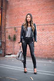 ofstyle leatherjacket leatherpants